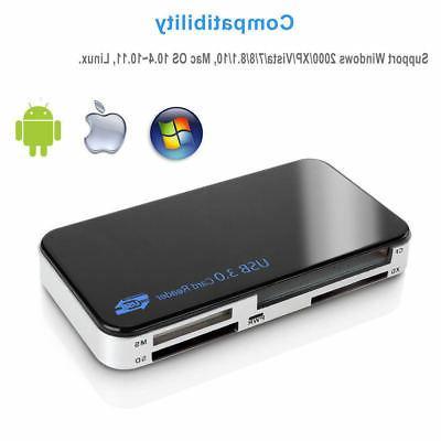 USB 3.0 1 Compact Multi Card CF Micro MS 5Gbps