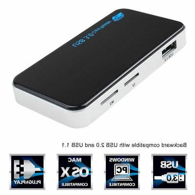 USB All 1 Card Reader CF Adapter Micro 5Gbps