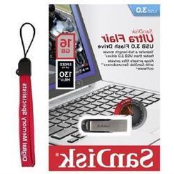 SanDisk 16GB USB 16G CZ73 Ultra Flair USB 3.0 150MB/s SDCZ73
