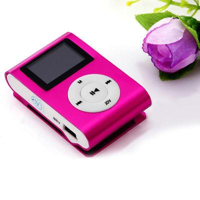 USB Digital Music Player Clip Support 2-32GB Micro Lot