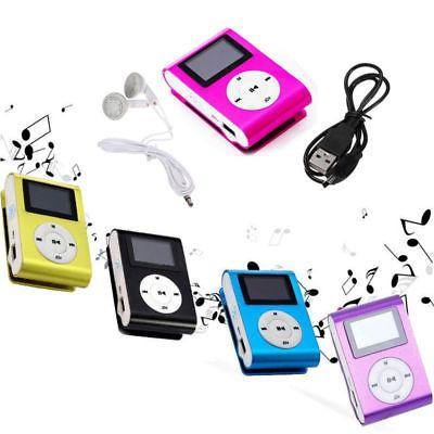 USB Mp3 Music Player Support 2-32GB Micro Lot