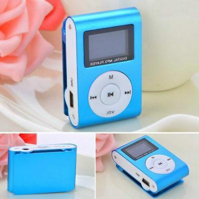USB Music Player Clip 2-32GB Lot
