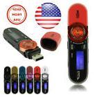 USB LCD Screen16GB Support Flash TF Player MP3 Music FM Radi