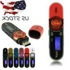 USB LCD Screen16GB Support Flash TF Player MP3 HD Voice Musi