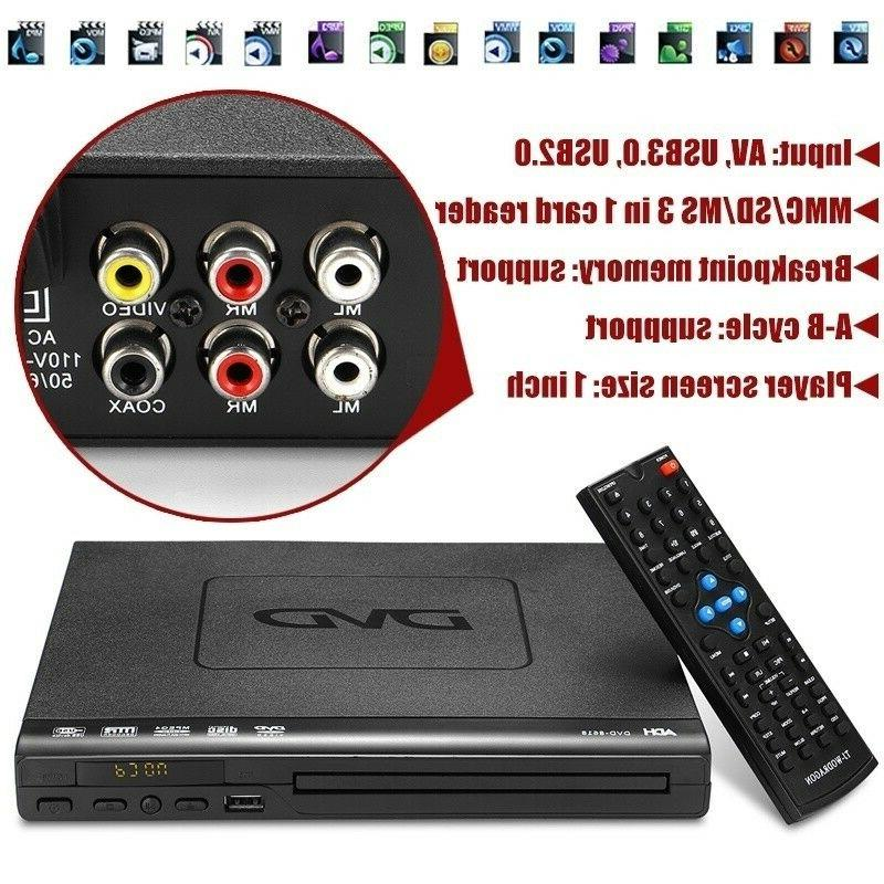USB Port Multiple Playback Controller Multi-angle Viewing