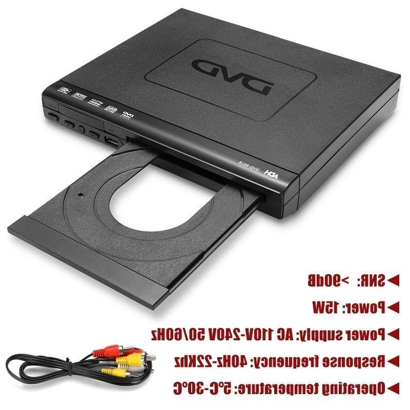USB Port DVD Multiple Remote Controller Viewing