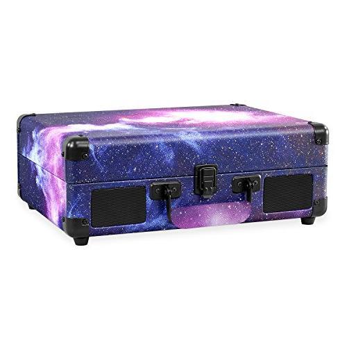 Victrola Vintage 3-Speed Suitcase Speakers, Limited