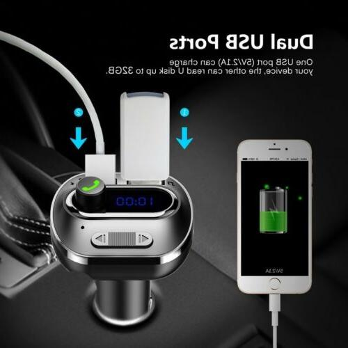 VICTSING Wireless In-Car Bluetooth