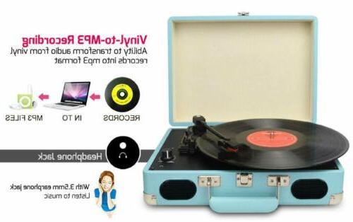 Vintage Vinyl Player Supports USB/RCA Output