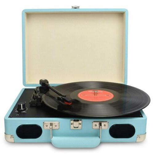 3-Speed Vintage Vinyl Archiver Record Player