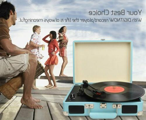 vintage turntable 3 speed vinyl record player