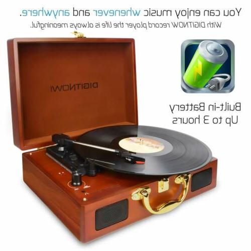 Vinyl/LP Turntable with Turntable Recor