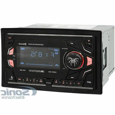 Soundstream VM-22B Bluetooth Digital Media Stereo