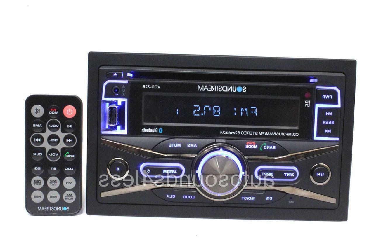 Soundstream VR-345BT Car DVD Player - 3.4 LCD - 208 W RMS -