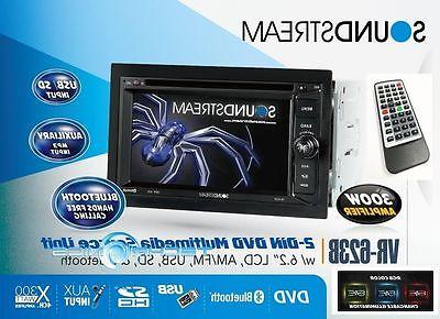 "SOUNDSTREAM 6.2"" CD DVD MP3 USB"