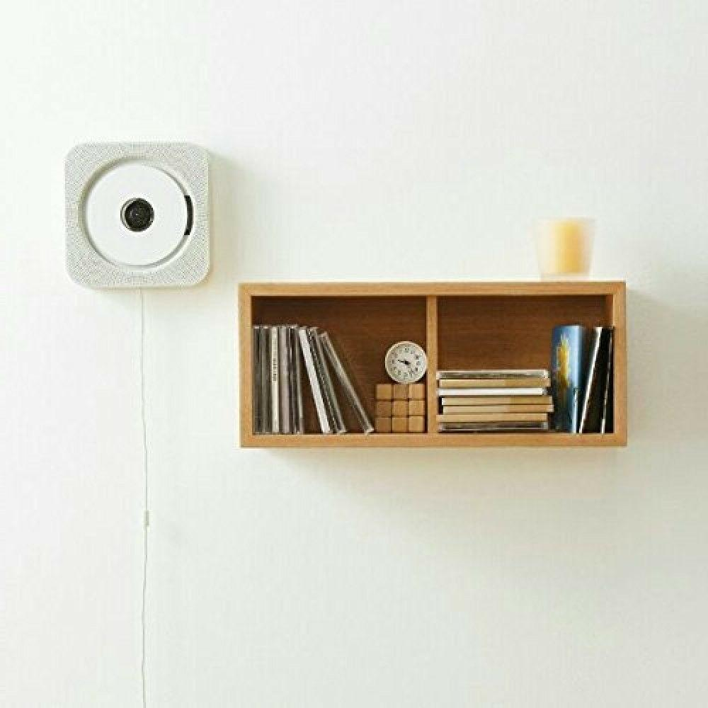 NEW Muji Wall CD Player CPD-4 FM From JAPAN