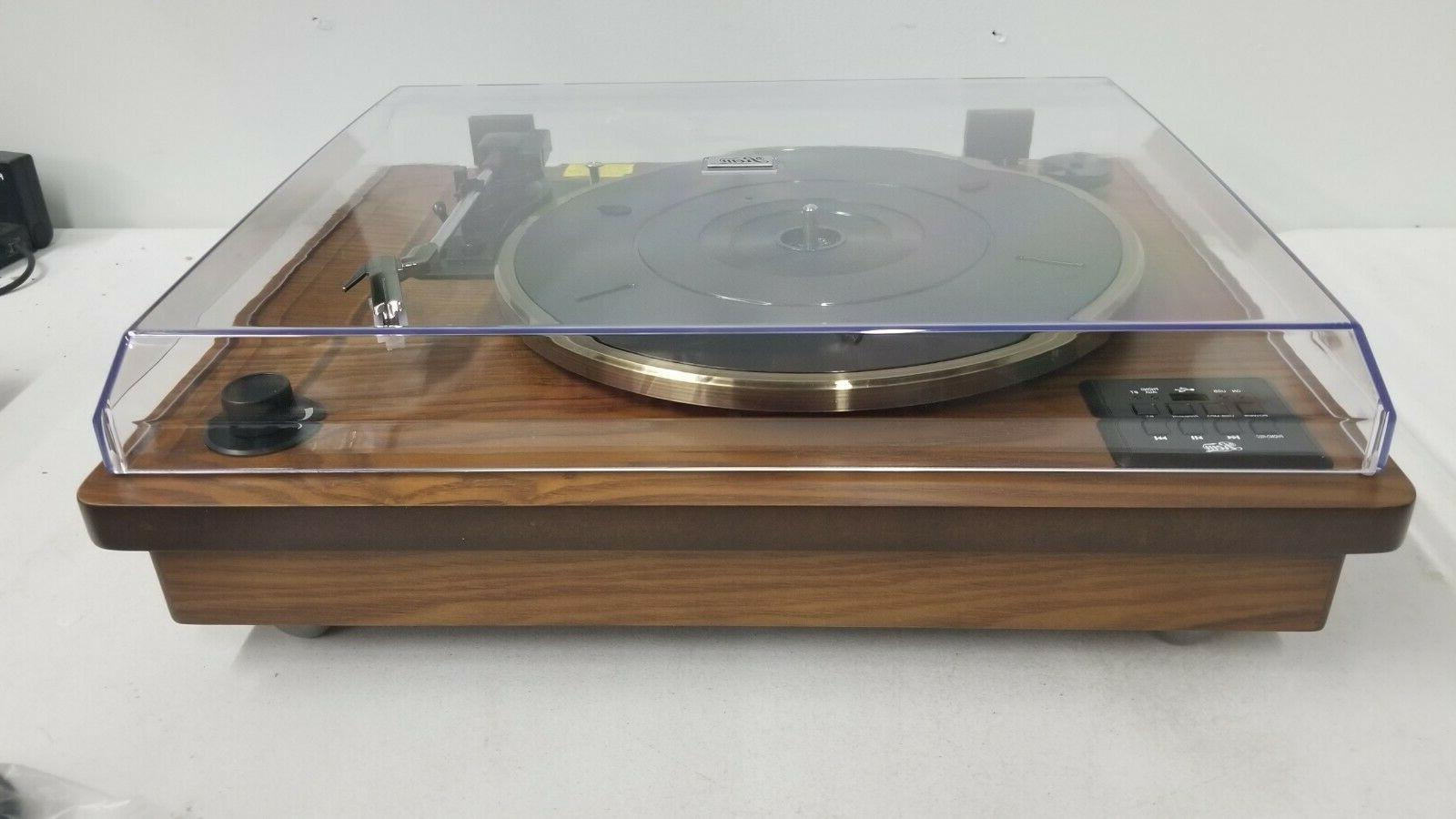 Rcm 3-Speed Stereo Vinyl Record Player