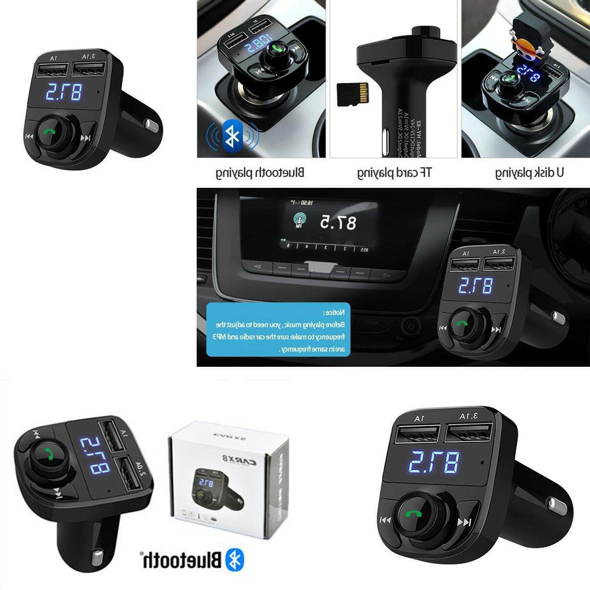 Wireless Bluetooth 4.0 Car MP3 Player FM Radio Transmitter L