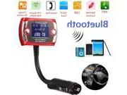 Wireless Bluetooth LCD Steering Wheel Remote Car Kit FM Tran