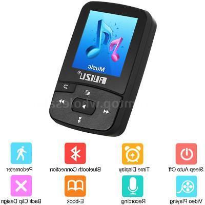 RUIZU X50 8GB MP3 MP4 Lossless Sound BT