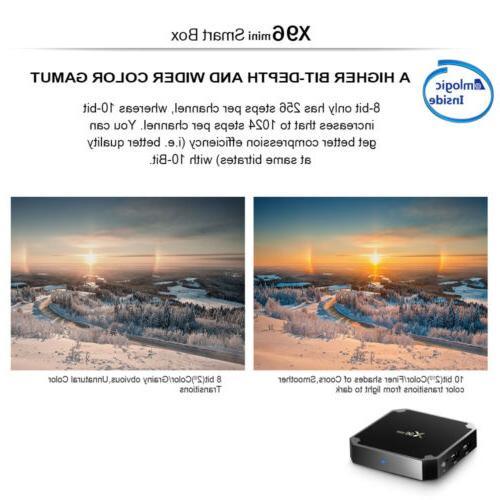 X96 Mini 1+8GB S905W Smart 7.1 4K HD Media Player