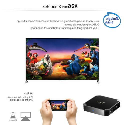 X96 Mini Smart BOX 7.1 Quad 4K