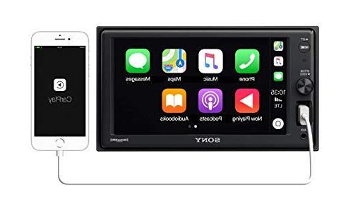 "Sony XAVAX1000 6.2"" Apple CarPlay Media Receiver Bluetooth"