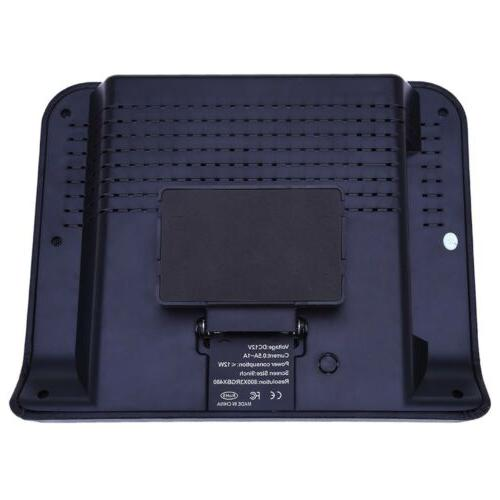 XD9901 9 Headrest DVD Player 800 x 480 Monitor
