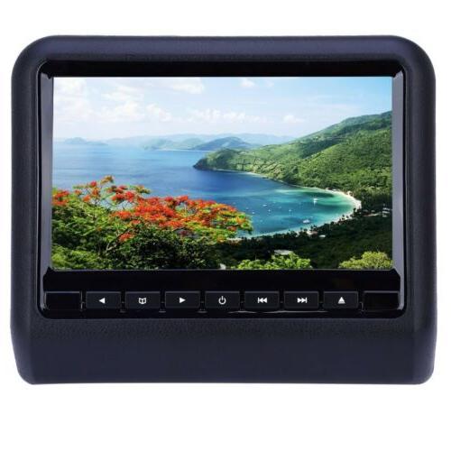 XD9901 Headrest DVD x 480 LCD Backseat Monitor