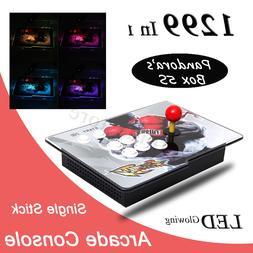 Light 1299 Games Single player Pandora Box 5S Arcade Console