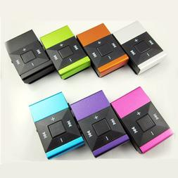 Light Clip USB MP3 Player Support Micro SD TF Card Music Med