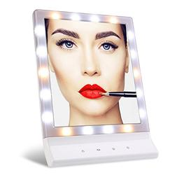 TFCFL Lighted Makeup Mirror Smart Touch Large Screen Beauty