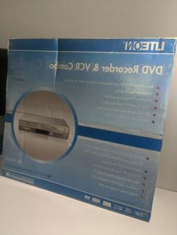 LiteOn DVD Recorder / VCR Player Combo LVC-9016G w/Remote &