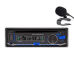 LSLYA(TM) 1 DIN 12V Car Stereo DVD/CD/Bluetooth Player R