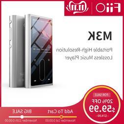 FiiO M3K Metal case Sport Audio Mini Lcd screen HiFi Mp3 <fo
