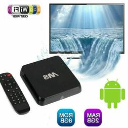 M8 Smart Android TV Box S802 Octa-core 2G+8G Dual Wifi Media