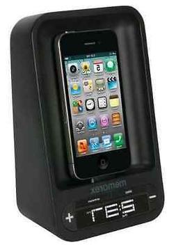 Memorex MA4221 FM Alarm Clock Radio for iPod and iPhone Univ