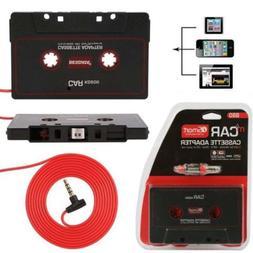 Maytir 110cm Universal Audio Tape Adapter 3.5mm Jack Plug Bl