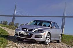 Mazda 6 MPS  Car Print on 10 Mil Archival Satin Paper Silver