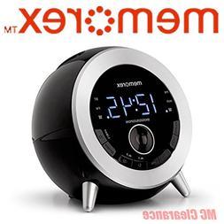 Memorex MC3533 Bluetooth Clock Radio with USB Charging