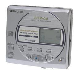 Sharp MDMT20 S Minidisc Player / Recorder with Anti Shock