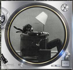 "Memorex Is It Live? Slipmat Turntable 12"" LP Record Player,"