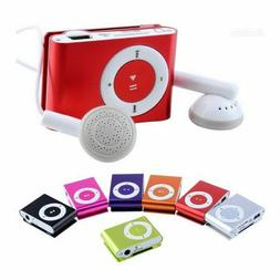 Metal Card Clip MP3 Iron Clip Mini Sports Running MP3 Player