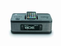 Memorex MI4703P 30-pin Dual Alarm Clock Radio for iPod and i