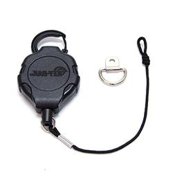 "KEY-BAK MIC-BAK CB Radio Retractable Tether, 36"" Kevlar Cord"