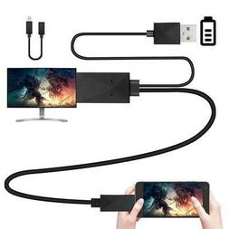 Yinguo Micro USB To HDMI Converter Cable 6.5 Feet 1080P HDTV