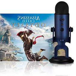 Blue Microphones Midnight Blue Yeti w/Assassin's Creed Odyss
