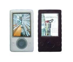 for Microsoft Zune 30GB MP3 Player Soft Silicone Rubber Skin