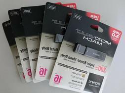 Sony 16GB MicroVault Q-Series USB Flash Drive