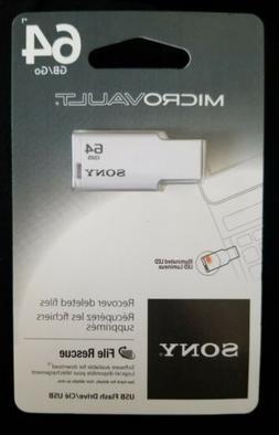 Sony 64GB MicroVault USB 2.0 Flash Drive